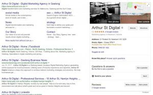 arthur st digital, arthurst, digital marketing geelong, digital agency geelong, digital marketing, arthur st, business listing, google business listing