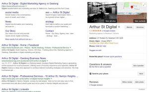 arthur st digital, arthurst, digital marketing geelong, digital agency geelong, digital marketing, arthur st, business listing, google business listing